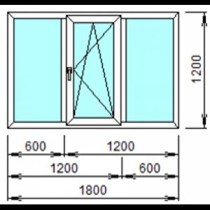 Оконный Блок 302 1800 х 1200