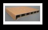 Мёллер подоконник светлый дуб пластиковый